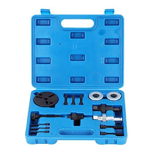 A/C Compressor-15Pcs/Set Extractor de aire acondicionado automotriz Compresor Extractor de embrague Kit de herramientas de pieza