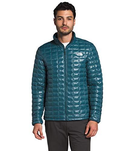 The North Face Thermoball Eco - Chaqueta aislante para hombre - Abrigo de otoño o invierno, color azul Mallard, XXL