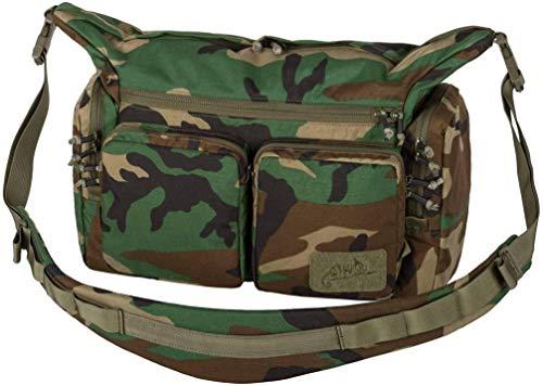 Helikon-Tex Wombat Mk2 - sac à bandoulière urbain, Mixte, US Woodland, taille unique