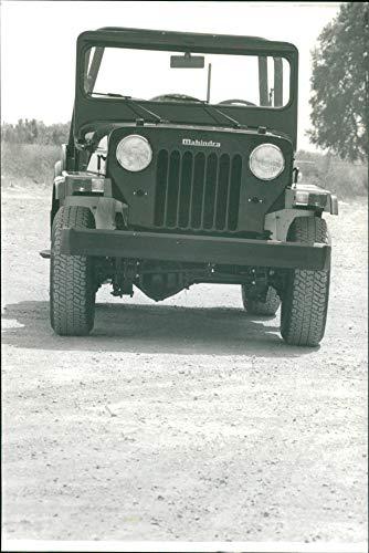 Mahindra 4x4 Vehículos - Foto de prensa vintage