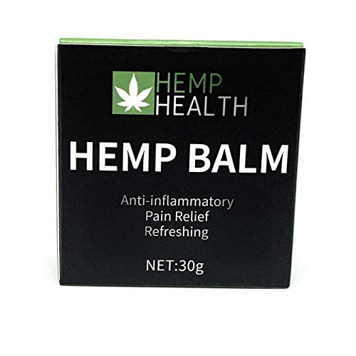 Hemp Balm | Pain Relief | Max Strength | 100% Natural | Perfect for Knee, Joint, and Back Pain - 30ml | 1000mg | Natural Hemp Extract Pain Relief Cream | Inflammation | Hemp Health
