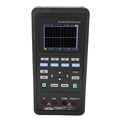 70MHz/40MHz Osciloscopio digital portátil de 2 canales + Multímetro + Generador de señal de 25M AC100-240V(2D42-EU)