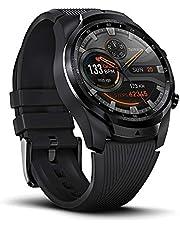 Ticwatch Pro 4G / LTE verbonden horloge, 1G RAM-geheugen, slaap volgen, klaar om te zwemmen, lange batterijduur, hartslag, GPS, NFC, 4G-functie niet beschikbaar