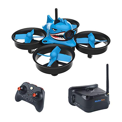 FancyWhoop Armor Blue Shark Micro FPV Racing Drone con 5.8G
