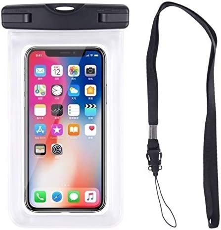 Reinforced Waterproof Case for Smart Phone/Phone Protector, Universal Cell Phone Dry Bag Pouch Outdoor Compatible with iPhone X/Xs/Xr/Xs Max, 8/7/6s Plus, Samsung S10/S9/S8 Plus, S10 e, Up to 6.5