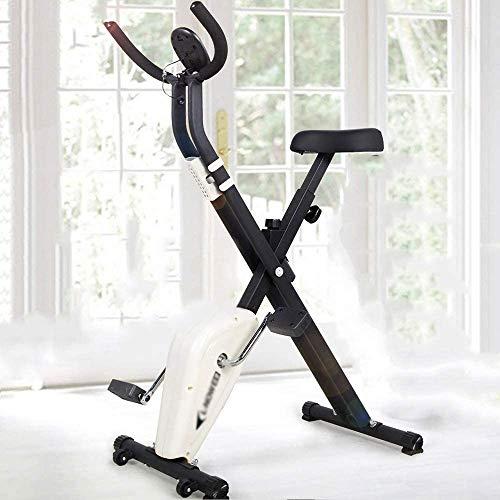 FFCC Leicht zu empfangendes Spinning Bike, Indoor Pedaling Laufband, mit Roller Exercise Bike,