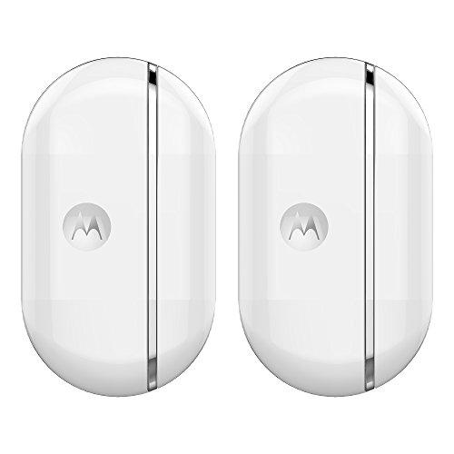 Motorola Baby Smart Nursery Alert Sensor - Connected Door and Window Alerts 2 Pack, White