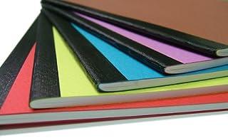 ショウエイドー A5ノート A5(30枚)5色ノート<赤、黄、るり、ぼたん、さび>5色×1冊計5冊セット