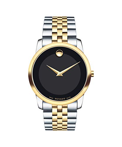 Movado Men's Museum Two Tone Watch...