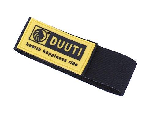 Extrbici bicicletta 30cm pantaloni cintura cravatta pantaloni angolo gomma cintura Avoild Enmeshing in piatto 2pz in 1confezione, Yellow