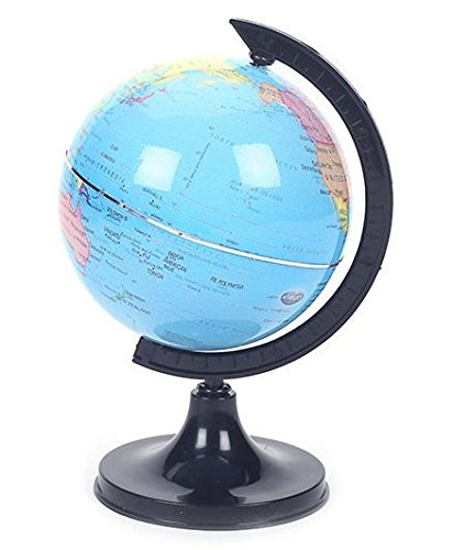 Toyztrend Educational Globe 303 for Kids (2)(Diameter-8 cm , Circumference - 25 cm)