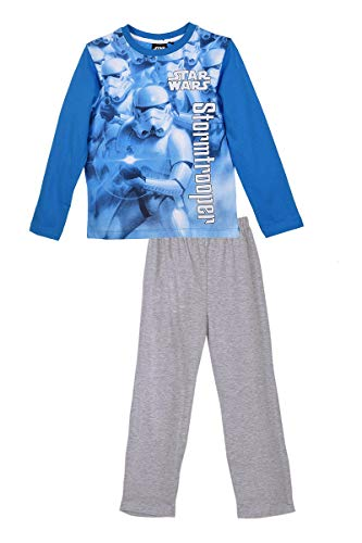 Pyjamas long Star Wars - 8 ANS, Bleu