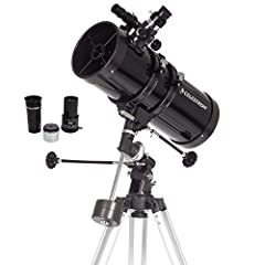 Perfect entry-level telescope: The Celestron PowerSeeker 127EQ is an easy-to-use and powerful telescope. The PowerSeeker series is designed to give the new telescope user the perfect combination of quality, value, features, and power Manual German eq...