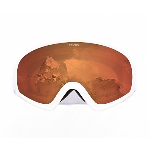 Retrospec Traverse G3 - anteojos de esquí y snowboard para jóvenes