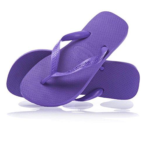 Havaianas Top, Chanclas Unisex Adulto, Morado (Purple 0719), 33/34 EU