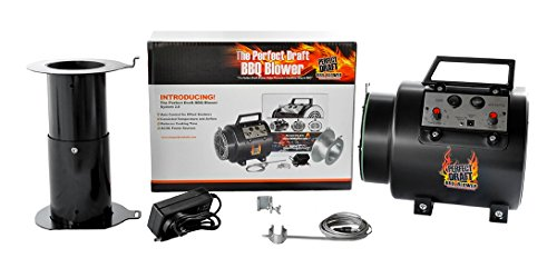 Perfect Draft BBQ Blower The Automatic Temperature Control, Reduces Cooking Time, Use Less Wood