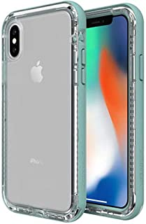 Lifeproof Next Series Case for iPhone Xs & iPhone X - Bulk Packaging (Seaside/Transparent)