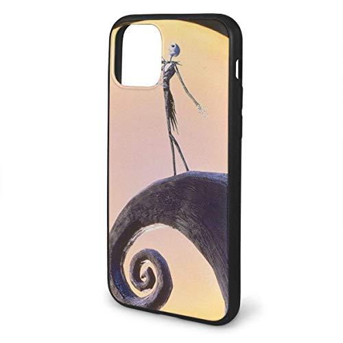 Carcasa flexible de TPU para iPhone 11 Pro Max 2019 (6,5 pulgadas) de Pesadilla antes de Navidad
