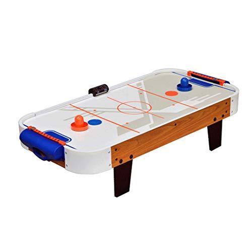 YYL Schnelles Sling Puck Spiel Luftbetriebenes Hockey, Kickertisch Indoor-Sportspielset mit 2 Pucks für Kinder und Erwachsene Familienschule Reisespaß