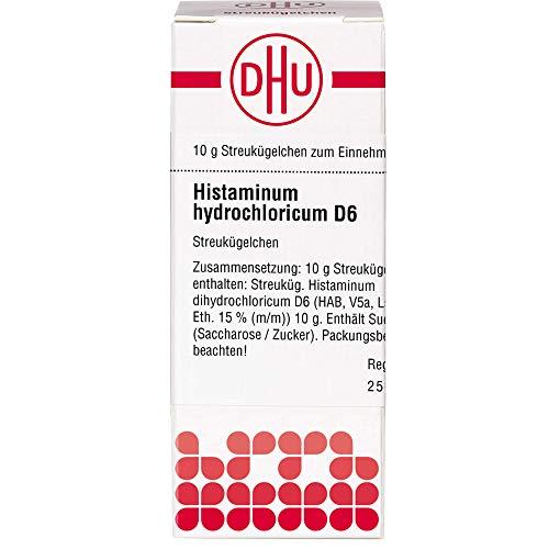 DHU Histaminum hydrochloricum D6 Streukügelchen, 10 g Globuli