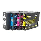 RICR Cartuchos De Tinta Remanufacturados para El Reemplazo De para Canon PGI-2400, Compatible para Canon Maxify IB4040 IB4140 MB5040 MB5140 MB5340 MB5440 Impresora 1SET