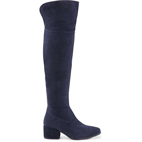Tamaris 1-25597-39 Schuhe Damen Stiefel Overknee, Größe:38 EU, Farbe:Blau