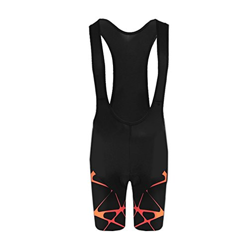BurningBikewear Uglyfrog Pantalones Cortos para Hombre Ciclismo Acolchado Pantalón Bib Shorts with 3D Gel Pad Transpirable Secado Rápido Verano Triatlón Ropa DKMZ01