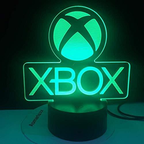 Dalovy Festival 3D Illusion Lampe Led Nachtlicht Xbox Spiel Home Game Jungen USB Liefern Direkte Cartoon App Kontrolle Kinder Geburtstagsgeschenke Kinder