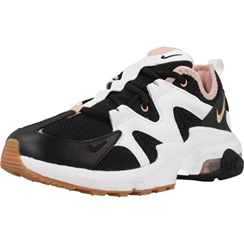 Nike Damen AIR MAX GRAVITON Sneaker, Schwarz (Black/MTLC Red Bronze-Coral St 106), 36 EU
