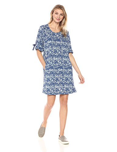 Neon Buddha Women's Standard Getaway Dress, Slate Blue, Large