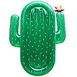 ANTINXUP Piscina Inflable Flotador Hamaca Cactus Balsas de la Piscina Fila Flotante para niños Adultos
