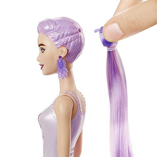 Barbie GTR93 - Barbie Color Reveal Puppe, Glitzer Serie, mit Enthüllungseffekt mit 1 Überraschungspuppe und 7 weiteren Überraschungen, Spielzeug ab 3 Jahren