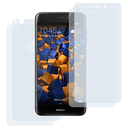 mumbi Schutzfolie kompatibel mit Huawei P8 Lite 2017 Folie klar, Bildschirmschutzfolie (4X)