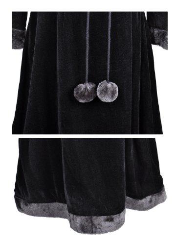 『銀河鉄道999 メーテルレジェンド メーテル風 コスプレ衣装 コスチューム Cosplay Costume 男性SSサイズ COSSKY』の5枚目の画像