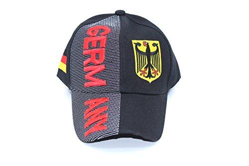 TS24direkt EM/WM Baseballcap Caps Mütze Cap Deutschland 3D Optik
