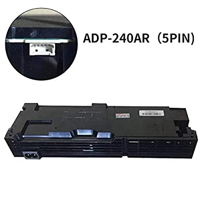 Lookaka Power Supply ADP-240AR Replacement and Repair for Sony Playstation 4 PS4 CUH-10xxA CUH-1001A (5 Prongs)