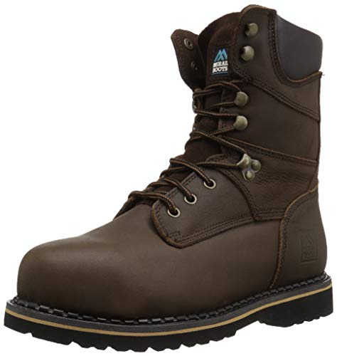 MCRAE Men's Ankle Boot, Brown-6, 14 M US