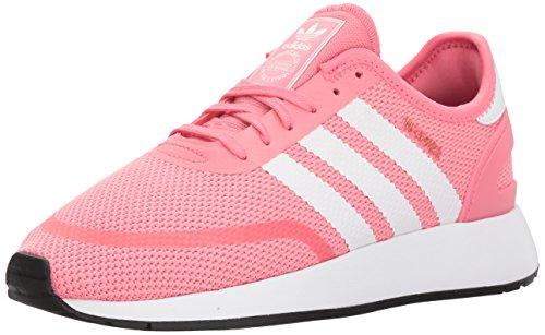 Adidas Unisex-Kids N-5923 J Sneaker, Chalk Pink s,White, Grey Three Fabric, 6.5 M US Big Kid