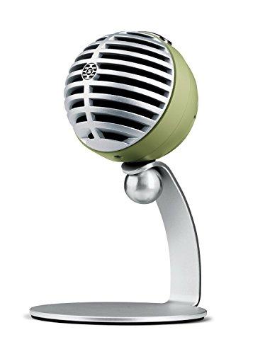SHURE コンデンサーマイク 実況/配信/在宅勤務/ウェブ会議 MOTIVシリーズ MV5 iOS 対応 グリーン MV5A-G-LTG-A 【国内正規品】