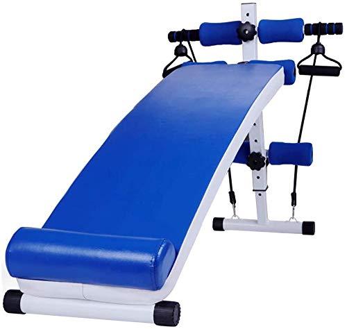 YXZQ Sit-ups Board Multifunctioneel Verstelbare Buikspierbank Fitnessapparatuur Gecombineerd met Meerdere Sportmodi Verstelbaar Versnelling Lager Gewicht 270kg(Upgrade)