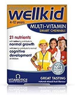 Vitabiotics | Wellkid Tablets | 1 X 30S