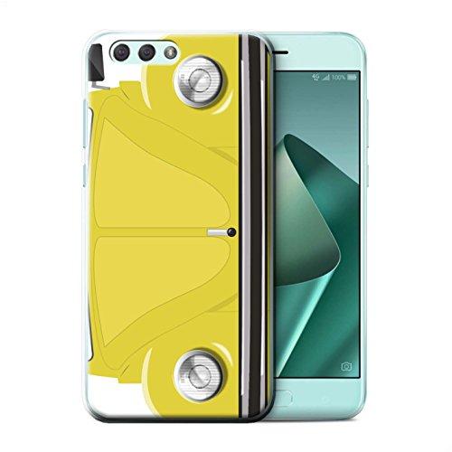Stuff4 Phone Case/Cover/Skin/ASUS de CC/Retro Beetle Collection Rallye Gelb ASUS Zenfone 4 ZE554KL