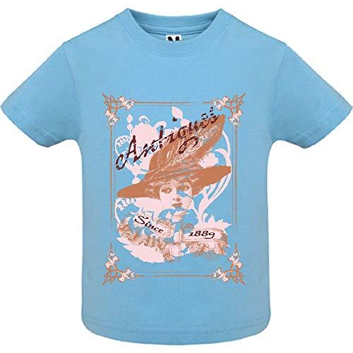 LookMyKase T-Shirt - Antiques - Bébé Garçon - Bleu - 18mois