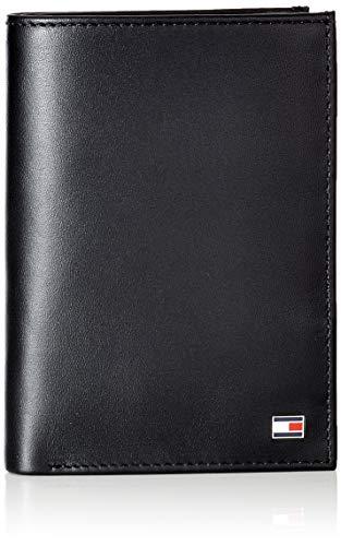 Tommy Hilfiger Eton N/s Wallet W/Coin Pocket, Portafoglio Uomo, Nero (Black), 1x1x1 Centimeters (B x H x T)