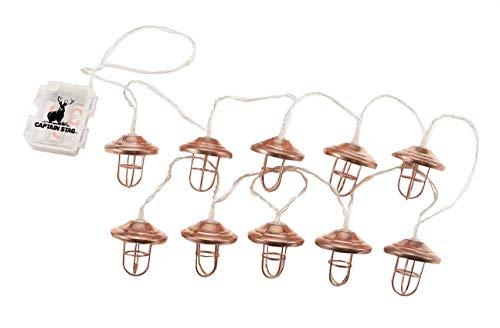 キャプテンスタッグ(CAPTAIN STAG) LED ライト LEDデコレーションライト 10灯 全長3.3m 【連続点灯:約30時間】 ランプ UK-4053