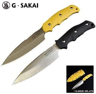 ジー・サカイ(G・SAKAI) SABIKNIFE3(4寸5分)FRNイエロー 11499 イエロー