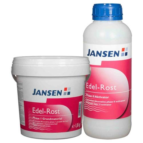 Jansen Edel-Rost Set | Rosteffekt-Farbe