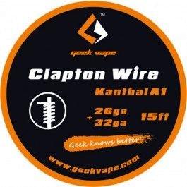 Filo Resistivo GeekVape Clapton Kanthal A1 (26GA+32GA) 5m