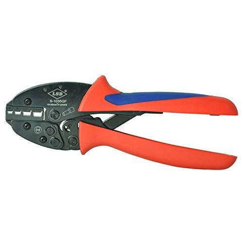 Crimpzange Energiesparende Crimpzange für Aderendhülsen, Aderendhülsen 10-35mm², 8-2AWG Hand Tools Crimper Crimp-Werkzeug