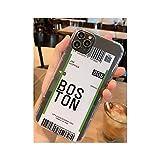 かわいい面白いバーコードラベル電話ケースiphone Xs MAX XR X 7 8プラス11 11Pro 11Pro MAXクリアソフトTPUバックカバーFundas,for iPhone 8 plus,10
